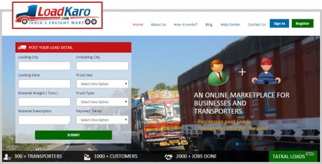 Loadkaro - Truck Load for Freight Shipping India