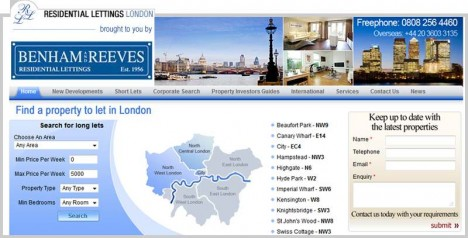 Residential Lettings London