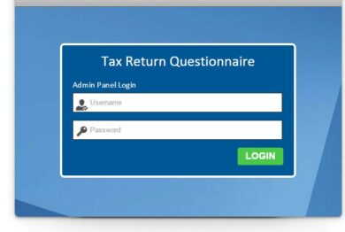 tax return management system
