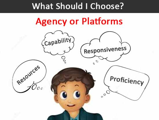 SEO Agency vs Platforms