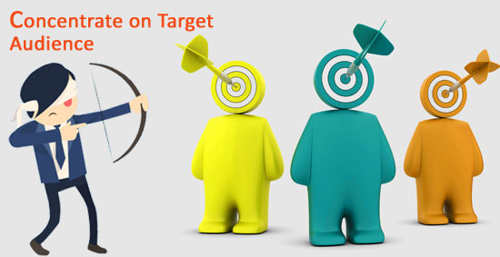 Digital Marketing Tips - Concentrate on Target Audience