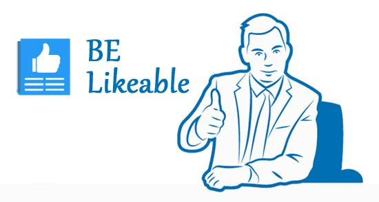 Facebook Marketing Tips - Be likeable