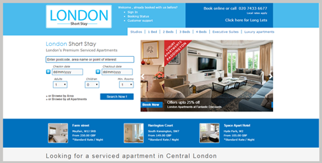 London short stay