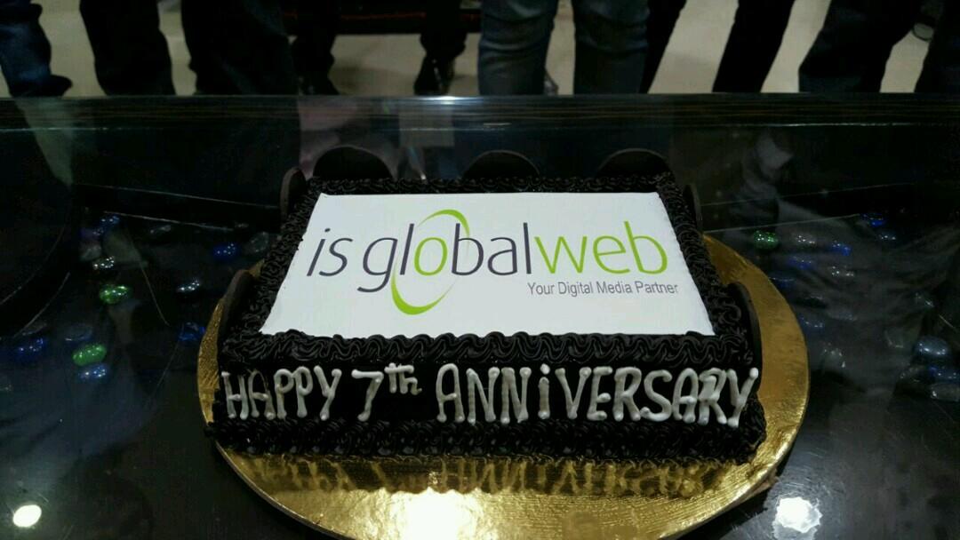 company anniversary celebration - anniversary cake