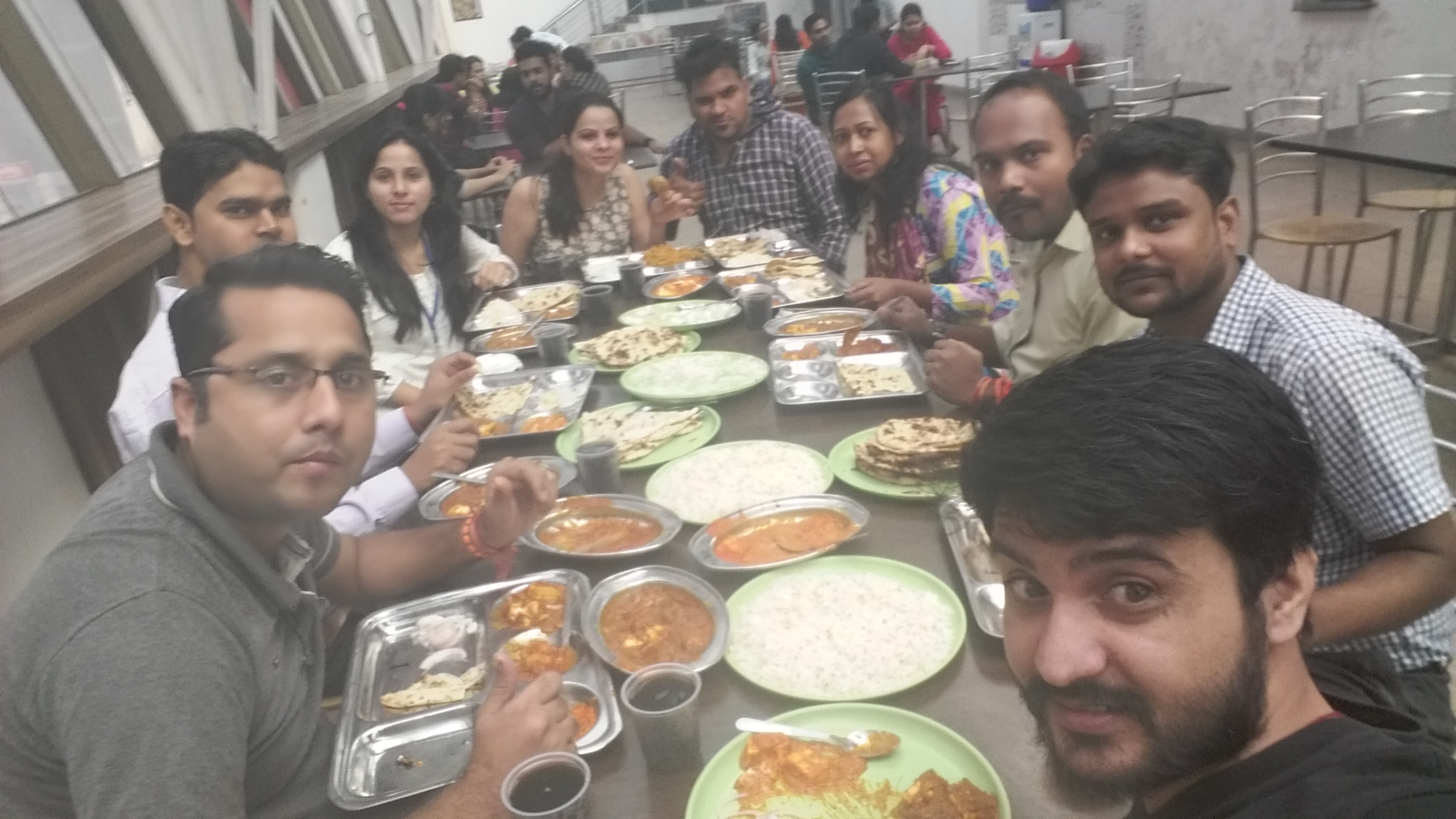 company anniversary celebration - team lunch
