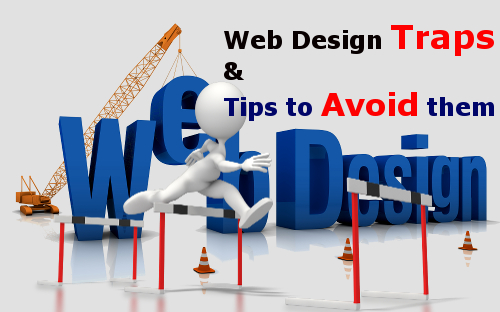 9 common web design traps and tips to avoid them