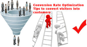 conversion rate optimization tips to convert website visitors into customers