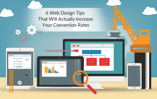 6 Web Design Tips that will increase conversion rates by IS Global Web