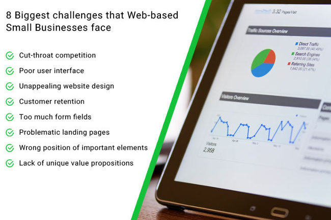 8 Biggest challenges that Web-based Small Businesses face