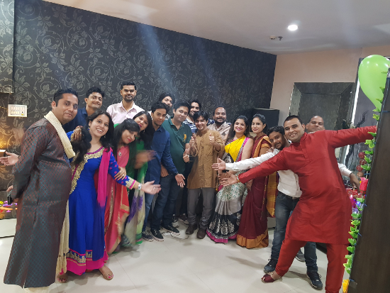 8th Anniversary Celebration - Everybody in Dancing mode